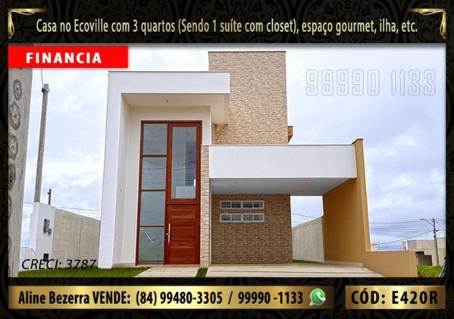 Oportunidade, duplex no Ecoville, com 3 quartos, cozinha com ilha, sala alta, confira