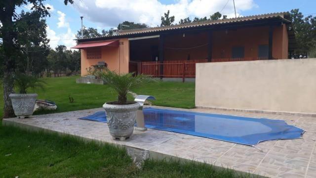 Chácara com 2 dormitórios à venda, 10000 m² por r$ 300.000 - zona rural - cuiabá/mt