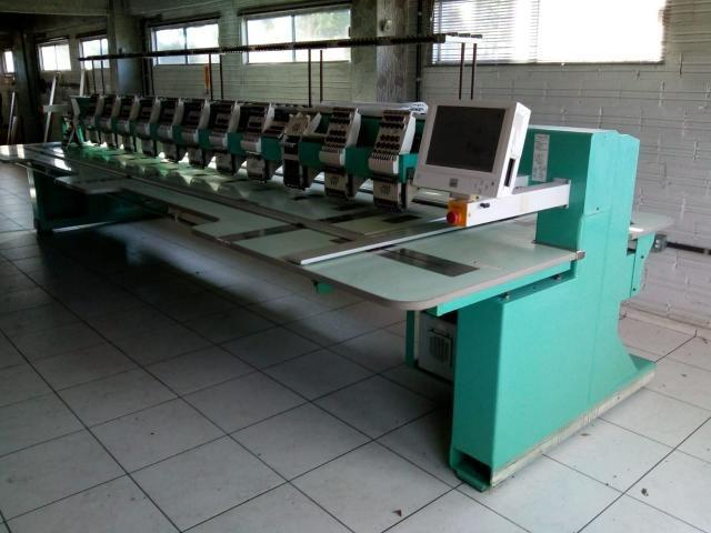 Máquina de bordar Tagima 12 cabeças