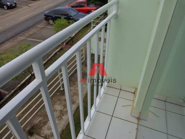 Apartamento com 2 dormitórios para alugar no via parque, 49 m² por r$ 937/mês - floresta s - Foto 6