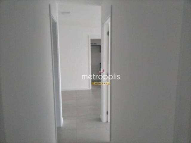 Apartamento com 2 dormitórios para alugar, 69 m² por r$ 2.500/mês - cerâmica - são caetano - Foto 13