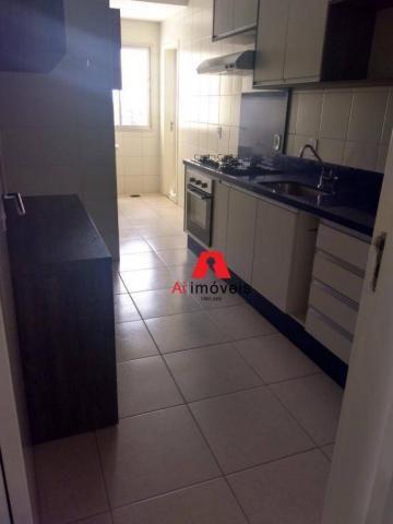 Apartamento com 2 dormitórios e 1 suíte com closet, para alugar, 110 m² por r$ 2.600/mês - - Foto 5