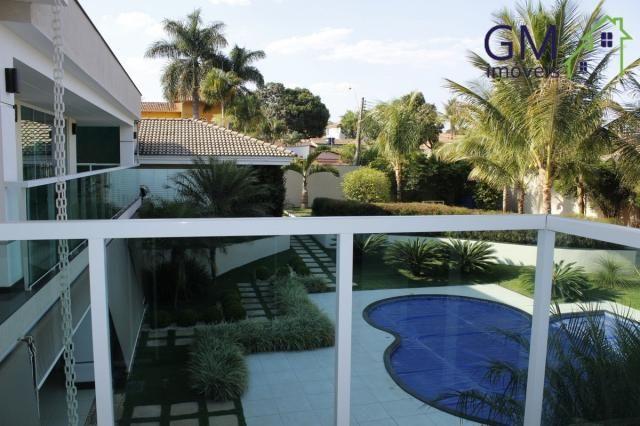 Casa a venda / setor de mansões / 4 suítes / piscina / churrasqueira / varanda / sobradinh - Foto 2