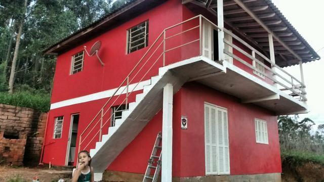 Vendo ou troco casa escrituradas 140 mil - Foto 2