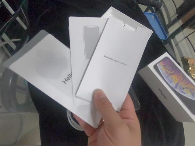 IPhone XS MAX 256 branco o mais novo do Brasil - Foto 3