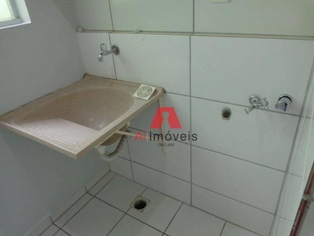 Apartamento com 2 dormitórios para alugar no via parque, 49 m² por r$ 937/mês - floresta s - Foto 9