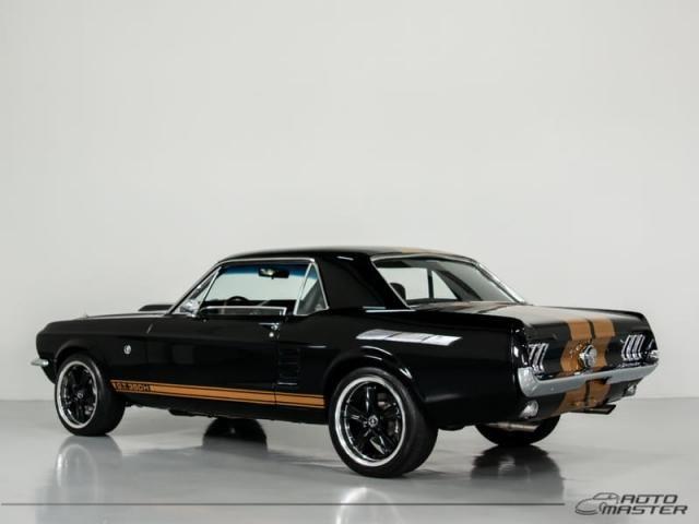 Ford Mustang GT Hard Top 5.0 V8 - Preto - 1967 - Foto 2