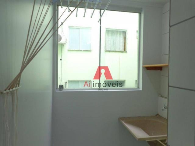Apartamento com 2 dormitórios para alugar no via parque, 49 m² por r$ 937/mês - floresta s - Foto 11