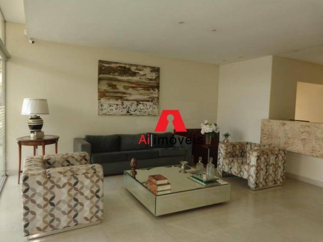 Apartamento com 2 dormitórios e 1 suíte com closet, para alugar, 110 m² por r$ 2.600/mês -