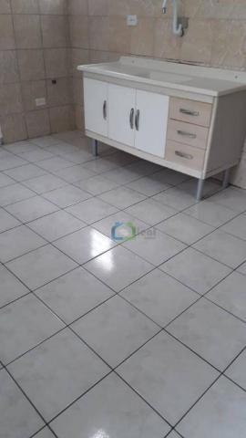 Casa com 2 dormitórios para alugar, 70 m² por r$ 1.100,00/mês - parque maria helena - são  - Foto 18