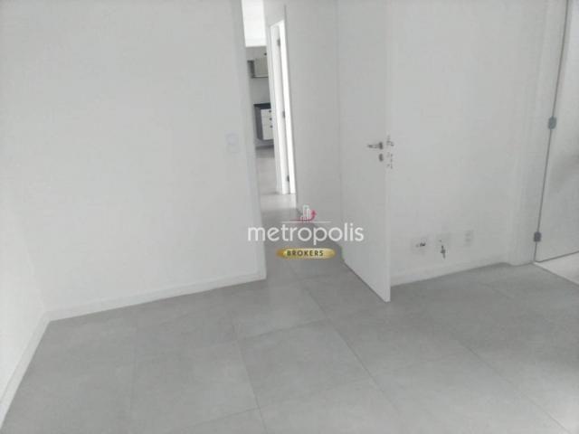 Apartamento com 2 dormitórios para alugar, 69 m² por r$ 2.500/mês - cerâmica - são caetano - Foto 14