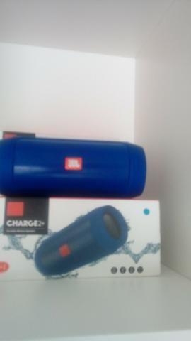 Caixa JBL Charge 2+ Bluetooth, Sd, Pendrive ( Loja na Cohab) Adquira Já!