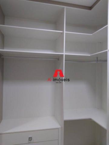Apartamento com 2 dormitórios e 1 suíte com closet, para alugar, 110 m² por r$ 2.600/mês - - Foto 15