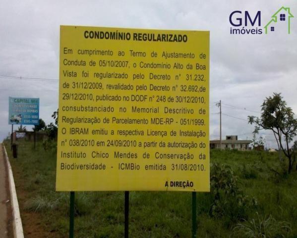 Casa a venda / condomínio alto da boa vista / escriturada / churrasqueira / 03 suítes - Foto 6