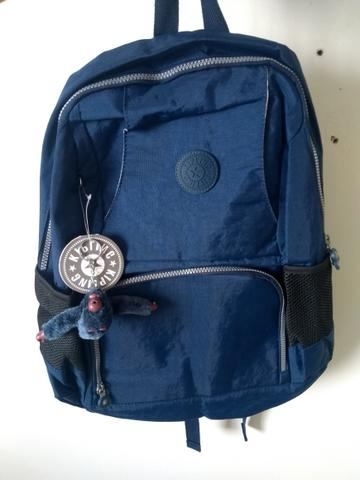 78b4fbb05 Mochila Kipling Grande Azul - Bolsas, malas e mochilas - Boa Viagem ...