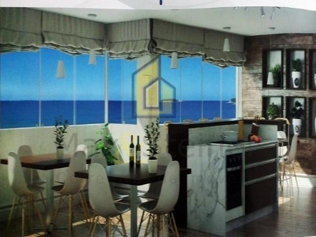 Napraia-Amplo Ap 01 Dorm,piscina e salaõ de festas na cobertura frente mar-parcela! - Foto 7