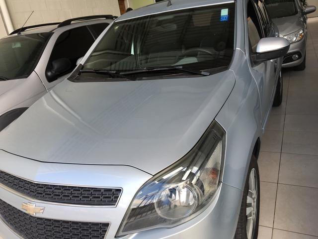 GM - ÁGILE LTZ 1.4 ano 2013, pneus novos, REVISADO, ÚNICA DONA - Foto 9