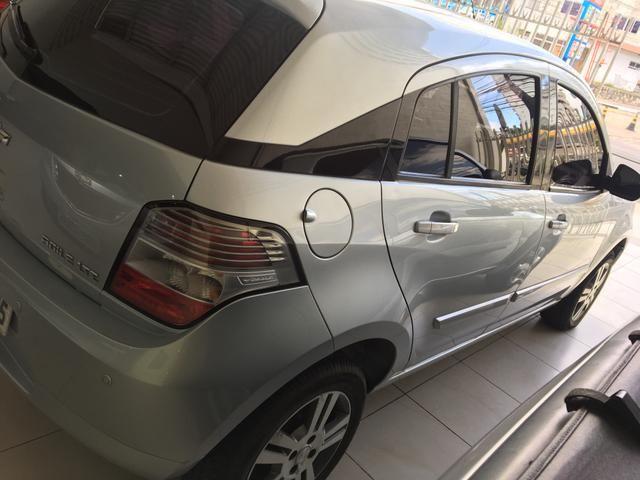 GM - ÁGILE LTZ 1.4 ano 2013, pneus novos, REVISADO, ÚNICA DONA - Foto 4