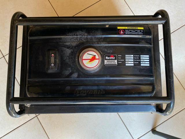 Gerador De Energia À Gasolina 2,2 Kva Tg2500mx Toyama - Foto 3