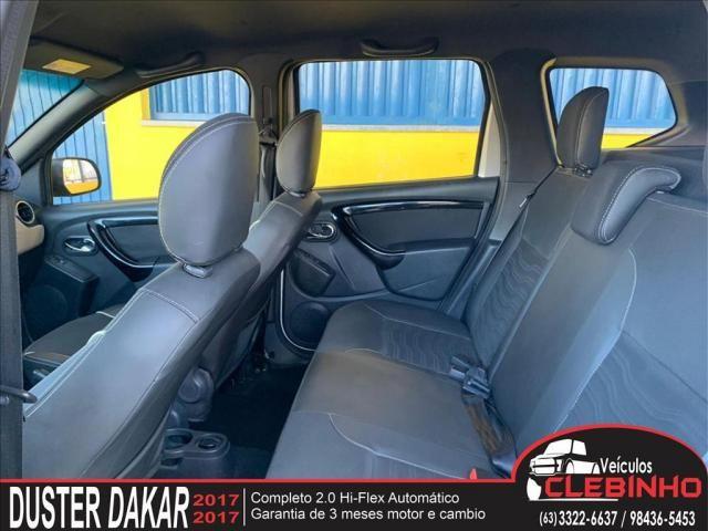 RENAULT DUSTER 2.0 16V HI-FLEX DAKAR II AUTOMÁTICO - Foto 8