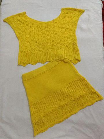 Conjunto de tricô