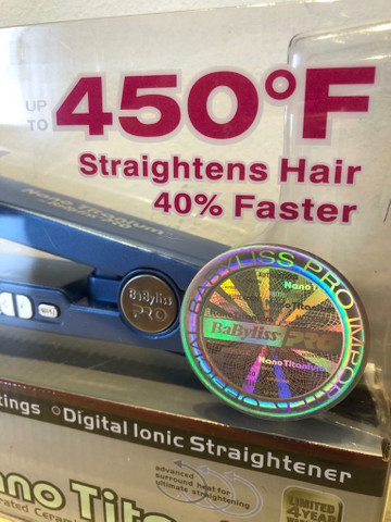 Prancha cabelo BABYLISS Nano Titanium  - Foto 3
