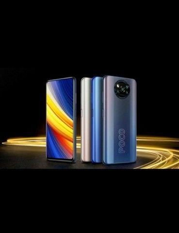 Celular Xiaomi Poco x3 Pro 8ram 256GB lançamento + Brinde lacrado  - Foto 2