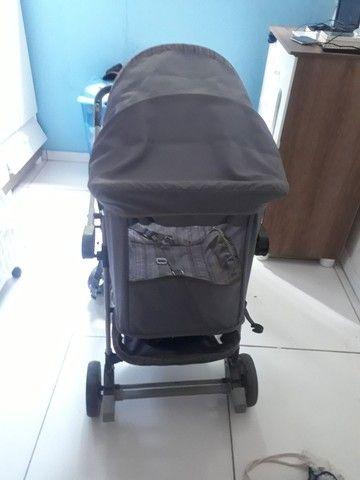 Carrinho de bebê bem conservado  - Foto 4