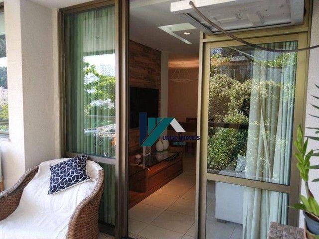 Apartamento montado, próximo ao largo do marrão, com lazer completo, 3 qts 1 suíte 1 vaga - Foto 4