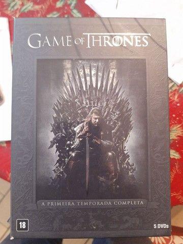 Coleção DVDs GAME OF THRONES