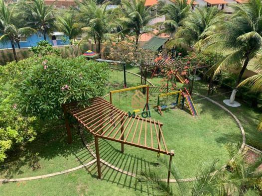 Apartamento com 1 dormitório para alugar, 52 m² por R$ 1.300/mês - Porto das Dunas - Aquir - Foto 16