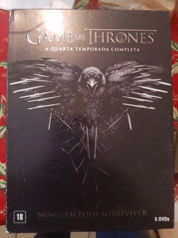 Coleção DVDs GAME OF THRONES - Foto 3
