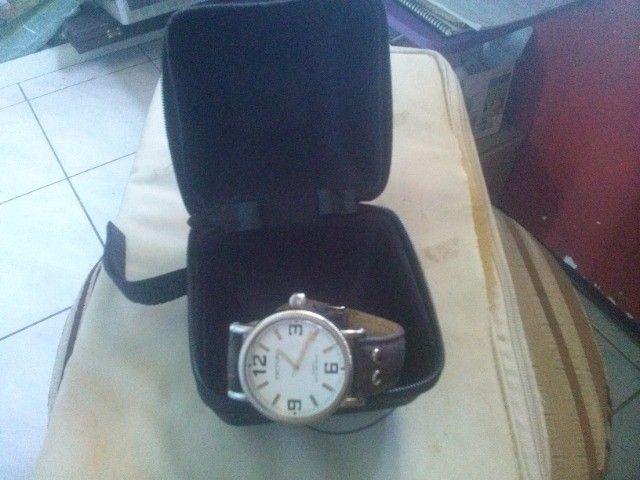 Relógio de pulso feminino e masculino - Foto 5