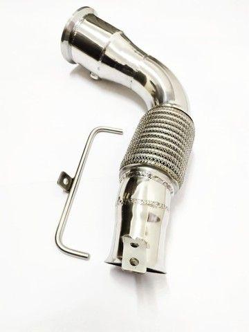 Downpipe Bmw 135im B48 2.0 306 Cv Aço Inox  304 - Foto 2