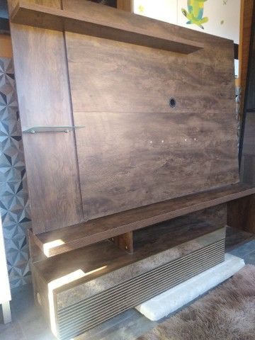 Painel rack imbuia 1,60x1,40