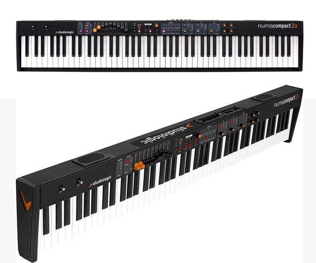 Piano Digital e Controlador Studiologic Numa Compact 2X