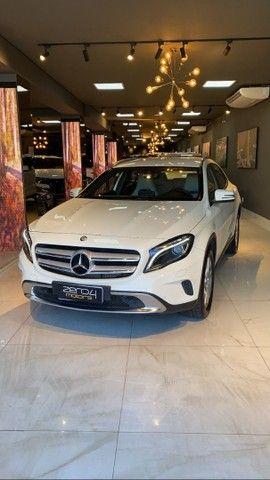 Mercedes-Benz GLA 200 1.6 Advance 2016/2016 Bancos interior bege ,Configuração Linda - Foto 5