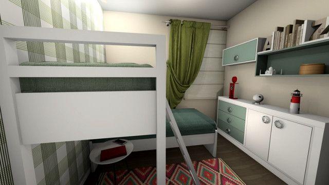 Oportunidade seu imóvel - Apartamentos geminados com 2 quartos no Paese - Itapoá/SC - Foto 8