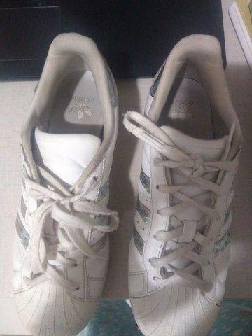 Adidas superstar usado  - Foto 4
