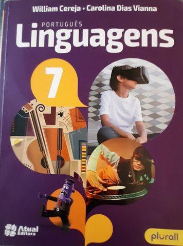 Coleção Livros TELÁRIS e Livro de Português - Atual Editora, 7° Ano - Foto 2