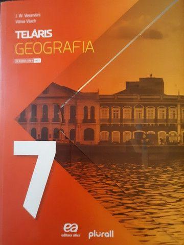 Coleção Livros TELÁRIS e Livro de Português - Atual Editora, 7° Ano - Foto 5