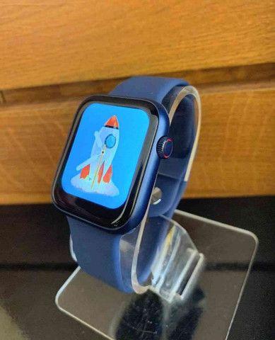 Relógio Smartwatch AK76 PRO 2021 + Frete GRÁTIS - RDO - Foto 3