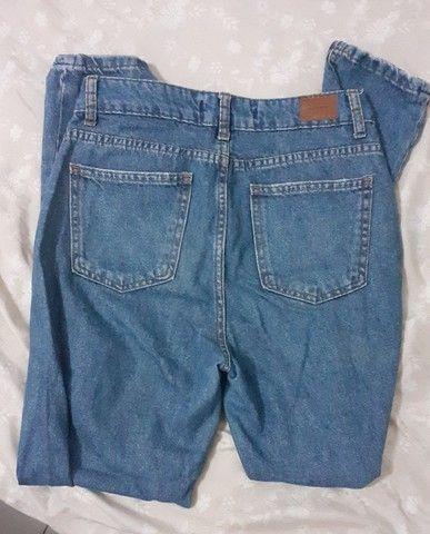 Calça Mom jeans tam 36 - Foto 3