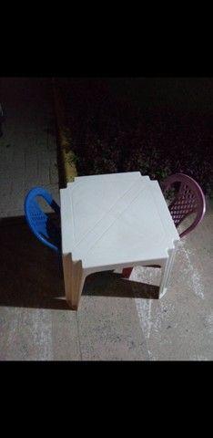 Mesas e Cadeiras Infantis R$17.00 / Celular - Foto 2