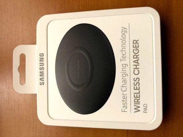Carregador Wireless Charger Sem Fio Slim Original Samsung - Foto 4