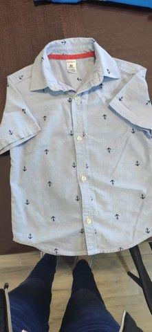 Camisas Carter´s Tam 4 - dos Estados Unidos - Foto 4