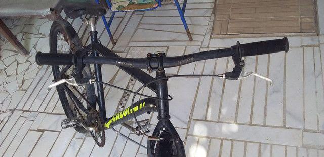 Bicicleta toda ok caloi