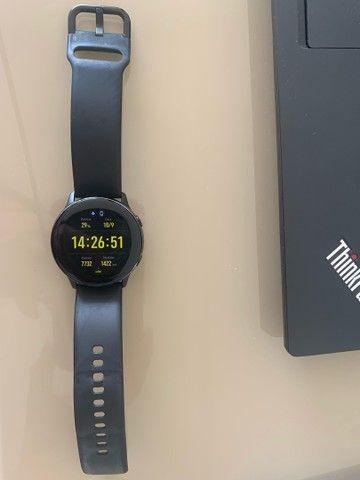 SmartWatch samsung galaxy watch active preto 40mm