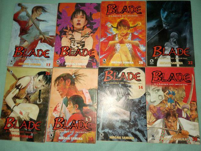 Estou vendendo 14 livros  (BLADE)