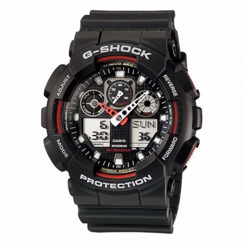 Casio G-shock Analógico Dig. GA-100-1A4 Original